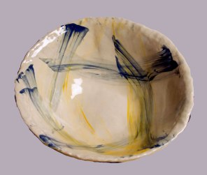 52. Veronica Wilson  Pottery Bowl Stoneware  www.frogvalley.com