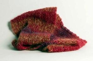61. Sam Herrmann  Infinity Scarf  Knitted Mohair & Silk  www.samspun.com