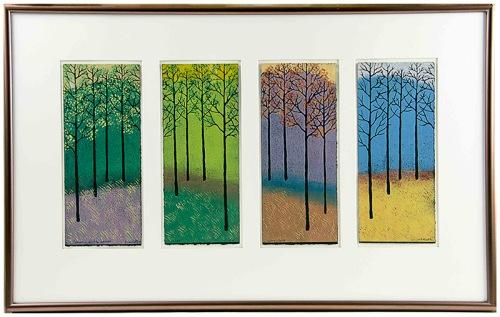 "Jan Heath, ""Four Seasons"" Print"