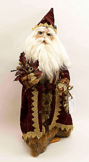 "Pat MARGGRAF, ""Christmas Wizard"" Soft Scupture"