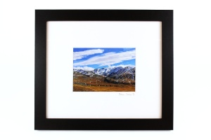 Stan Oaks, Mountain, Framed Photograph