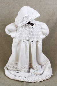 Irene Taylor, Hand Knit Christening Gown