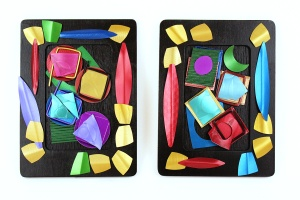 Hsu Studios, Two of A Kind, Anodized Aluminum Wall Art