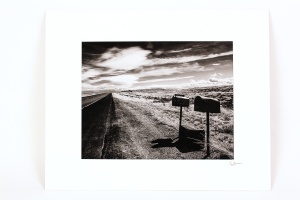 Rip Smith, Rural Delivery, Matted Archival Photograph