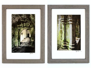 Marla Carr, Pair of Framed Architectural Photos