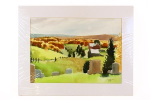 Wayne Peterson, Unframed Large Watercolor
