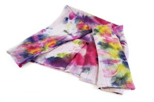 Kim Potter, Hand Woven Tie-Dye Cacoon