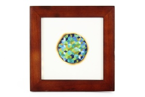Mary Klotz, Small Framed Triaxial Weave
